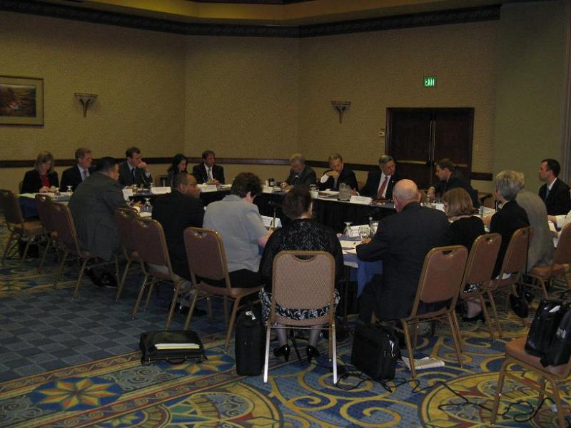 The Mo. Housing Development Commission meets at a hotel in Jefferson City.