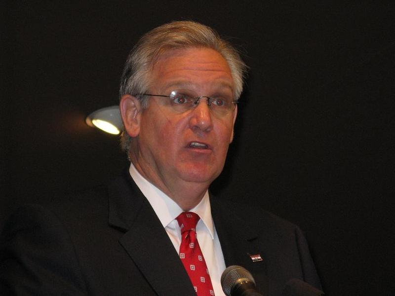 Mo. Gov. Jay Nixon on Aug. 26th, 2009.