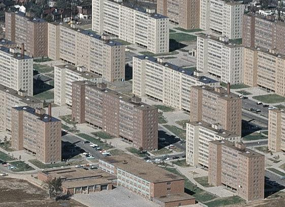 Pruitt-Igoe in the 1960s