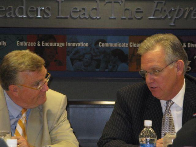 RCGA President Dick Fleming and Governor Jay Nixon