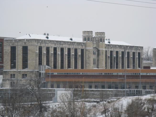 The old Mo. State Penitentiary in Jefferson City.