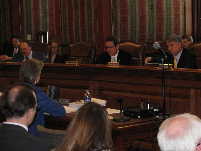The Mo. Senate Appropriations Committee discusses Gov. Jay Nixon's budget proposals.