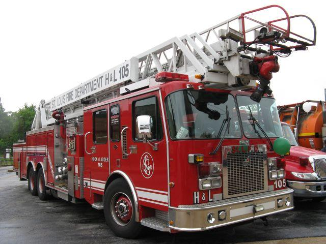 St. Louis city fire trucks will be retrofitted to reduce their diesel emissions.