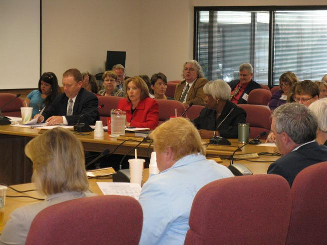 The Mo. Mental Health Commission meets in Jefferson City.