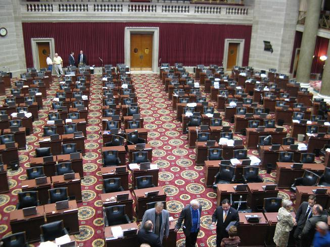 About a dozen Missouri House members and staffers attended the technical session that kicked off the 2010 special session.