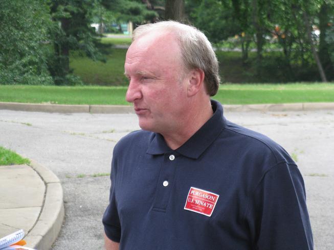 GOP U.S. Senate candidate Chuck Purgason