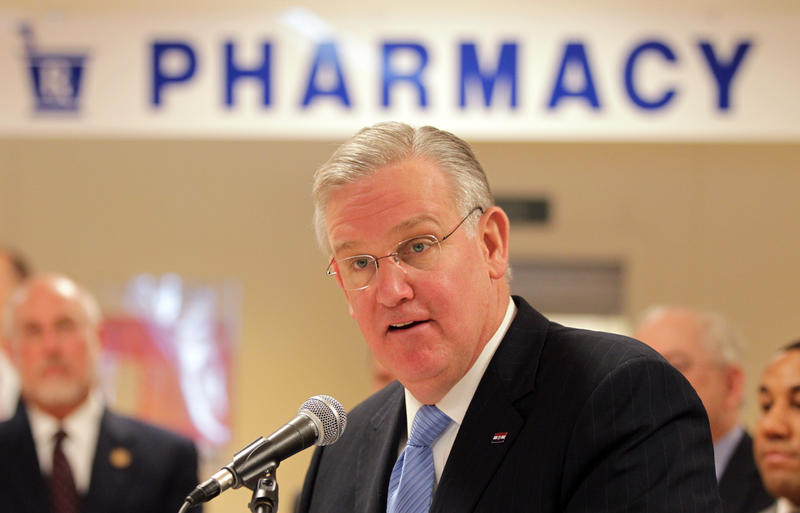 Missouri Governor Jay Nixon outlines how he will ask the General Assembly to reauthorize Missouri Rx, the state program that provides prescription drug assistance to low-income seniors and individuals with disabilities, for five more years.