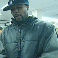 Security video from the St. Louis Community Credit Union in Midtown shows the man suspected of robbing the credit union on Monday. He is also a suspect in a bank robbery last month.