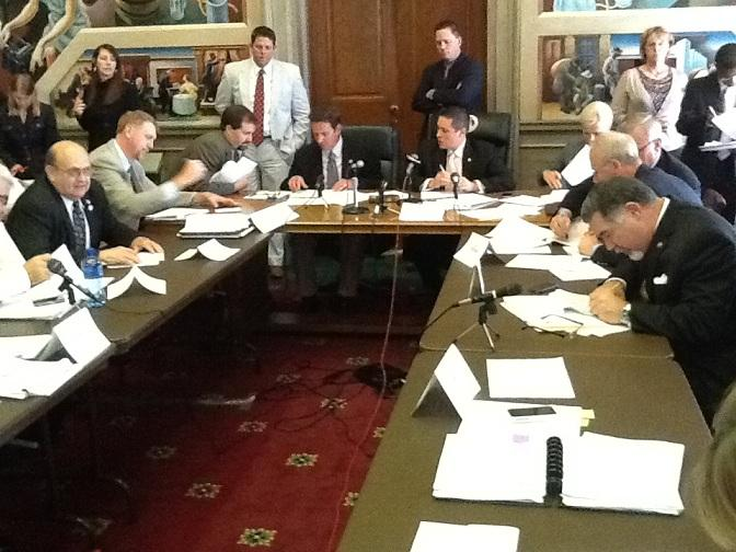 House and Senate budget conferees put the final touches on a compromise during their final meeting on 5-9-2012.