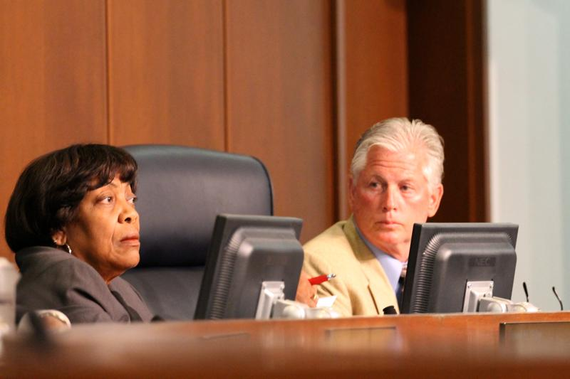 Councilwoman Hazel Erby, D-University City, saw several of her bills go down in defeat on Tuesday. The council typically approves most of its bills without stiff opposition.