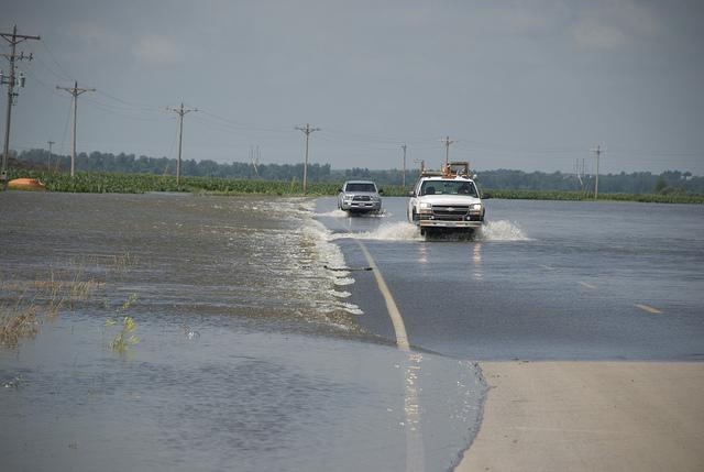 A non-federal levee near Rulo, Neb., experienced an overtopping breach in June, 2011, flooding U.S. Route 159 and part of Holt County, Mo.
