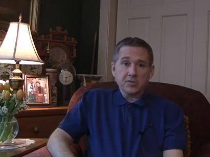 Illinois Senator Mark Kirk in a video statement released May 8.