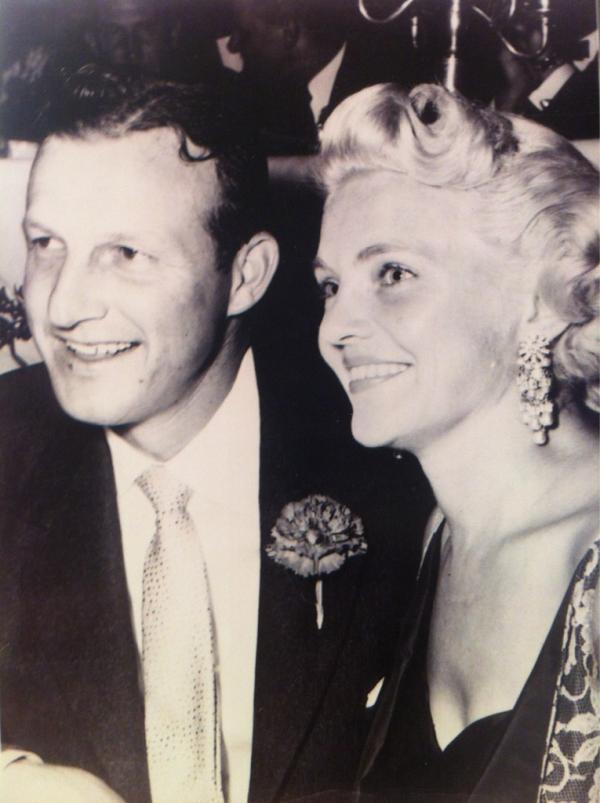 Stan and Lillian Musial in an undated photo. Lil Musial died May 3 at the age of 91.