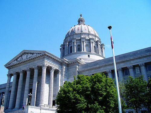 The Missouri State Capitol in Jefferson City, Mo.