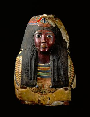 Mummy Mask of the Lady Ka-nefer-nefer.