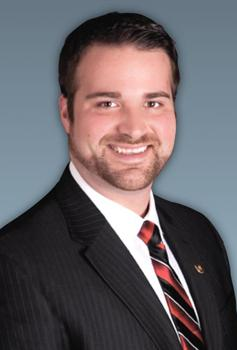 Republican Missouri State Representative Zachary Wyatt, from Kirksville.