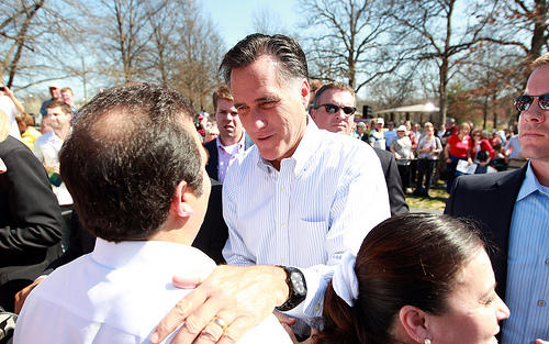 Romney in Kirkwood in 2012
