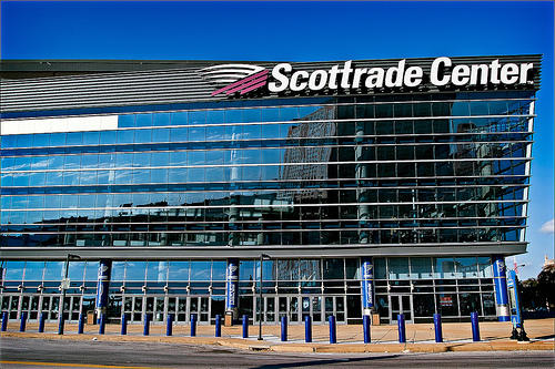 Scottrade secured the naming-rights for the home of the National Hockey League's St. Louis Blues in 2006.