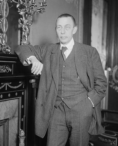Composer Sergei Rachmaninoff.