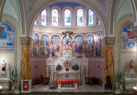 The St. Stanislaus church in St. Louis.