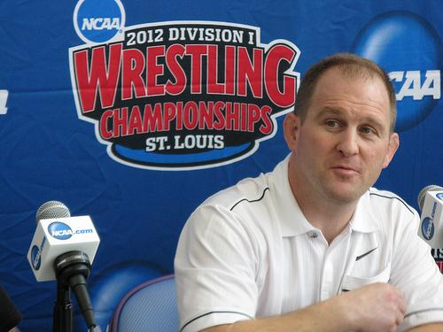 University of Missouri coach Brian Smith's team will have ten wrestlers competing in the NCAA Wrestling Championships this weekend.