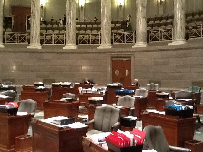 The Missouri Senate Chamber