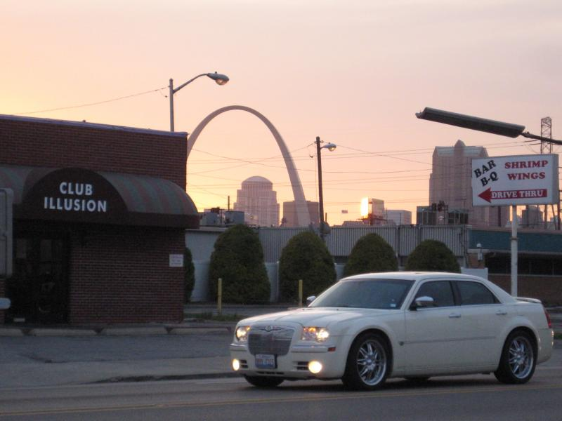 Club Illusion, which helped to foot the bill for extra patrols in East St. Louis back in March.