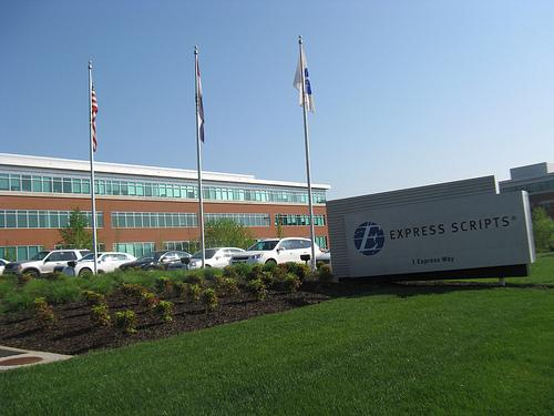 Current Express Scripts headquarters in St. Louis.