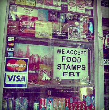Missouri is one of nine states where felony drug convicts are ineligible for food stamps.
