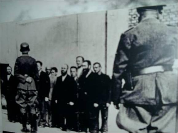 Mendel's father's arrest.