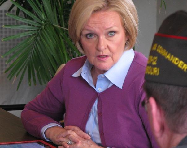 Sen. Claire McCaskill is a member of the Senate Armed Services Committee and the Veterans Jobs Caucus.