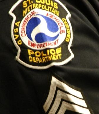 About 1,300 officers serve on the St. Louis Metropolitan Police Department.