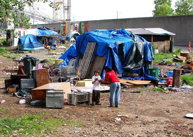 City officials removed the encampment by the riverfront known as Hopeville earlier this month.