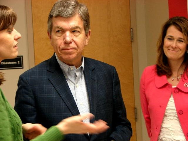 Speaking at the regional Red Cross headquarters in St. Louis, Sen. Roy Blunt said key Republican congressmen will be endorsing former Mass. Gov. Mitt Romney in the next week.