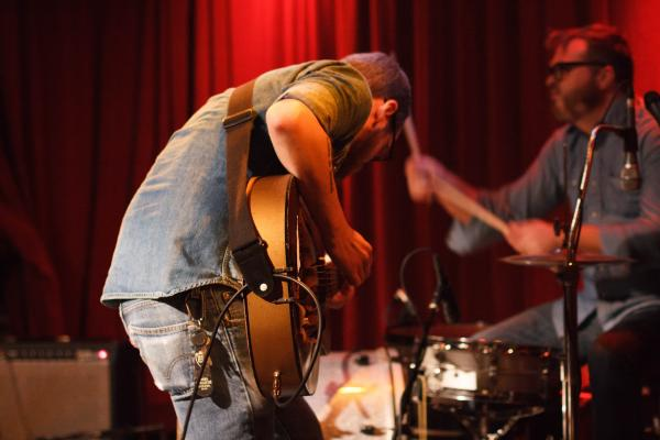Water Liars performing at Off Broadway for Arch City Radio Hour.