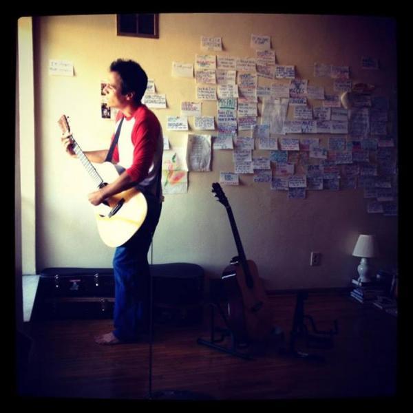 Singer-songwriter Geoff Koch