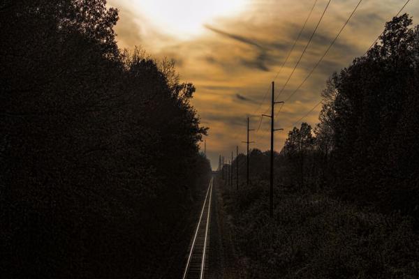railway scene