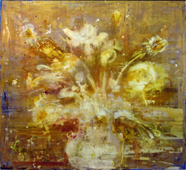 "Catherine Howe's ""Gold Painting (Morandi I),"" 2013"
