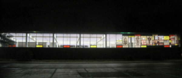 Windows designed for night viewing