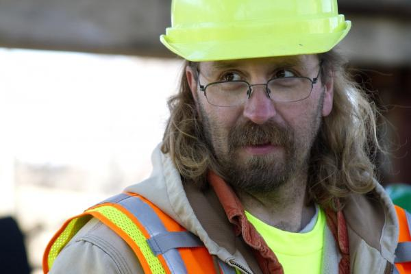Michael Meyer is an archeologist with MoDOT and the principal investigator of the Department's work in St. Louis.