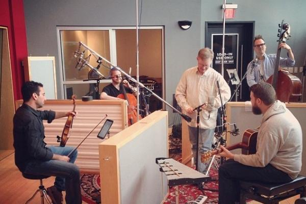 Musicians from left are Shawn Weil, Bjorn Ranheim, Syd Rodway (bass) and Adam Maness