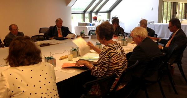 The ZMD Board met at the St. Louis Art Museum May 8.