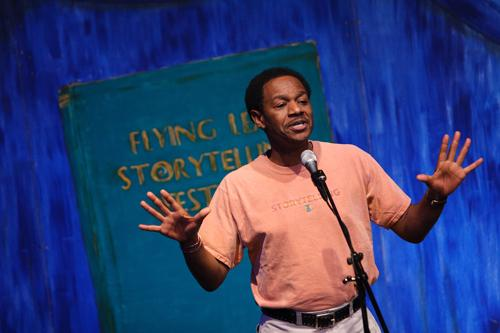 St. Louis storyteller Bobby Norfolk is featured in the 35th Annual St. Louis Storytelling Festival.