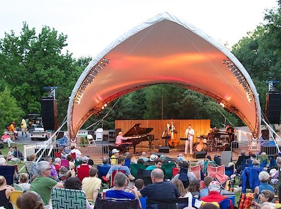 Peter Martin and Friends at the Missouri Botanical Garden's  Whitaker Jazz Series
