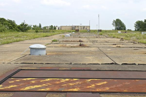 The former launch site near Hecker, Ill., is weather-worn, but the underground missile bunkers are intact and the elevators work.