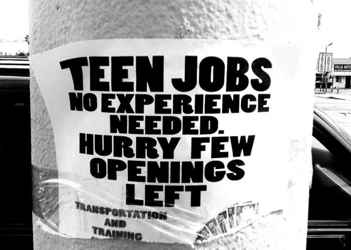 For Teen Job Openings 54