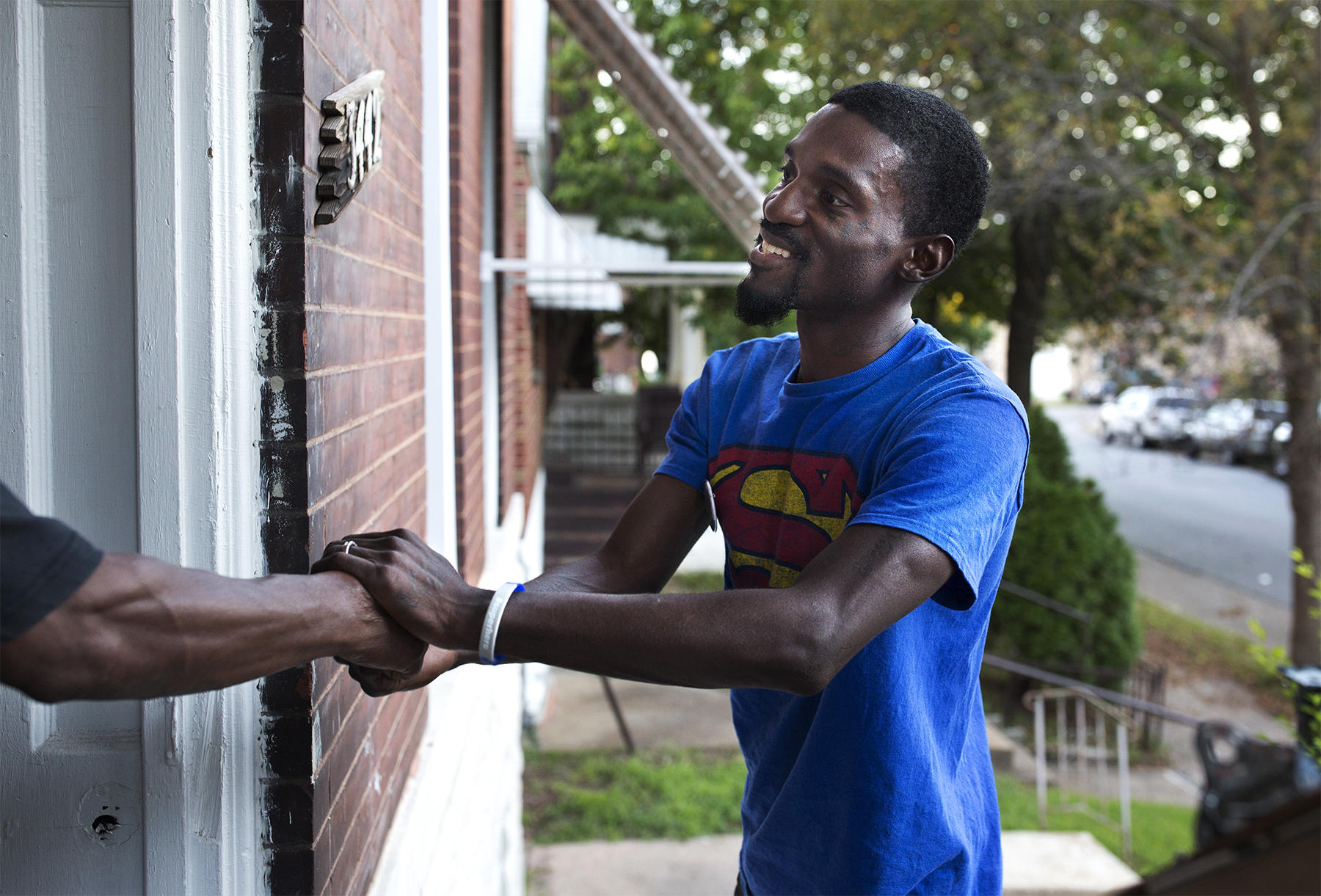 78th District Democratic candidate Bruce Franks goes door-to-door earlier this week in support of his bid against state Rep. Penny Hubbard.  sc 1 st  St. Louis Public Radio & Franks and Hubbard battle it out in historic state House primary ...