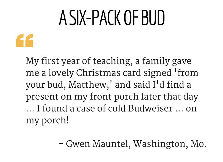 Just for doing your job\': Teachers share memorable Christmas gifts ...