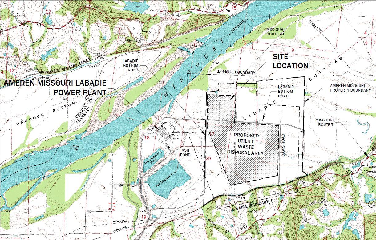 Ruling helps ameren 39 s labadie coal ash landfill move for Site de location
