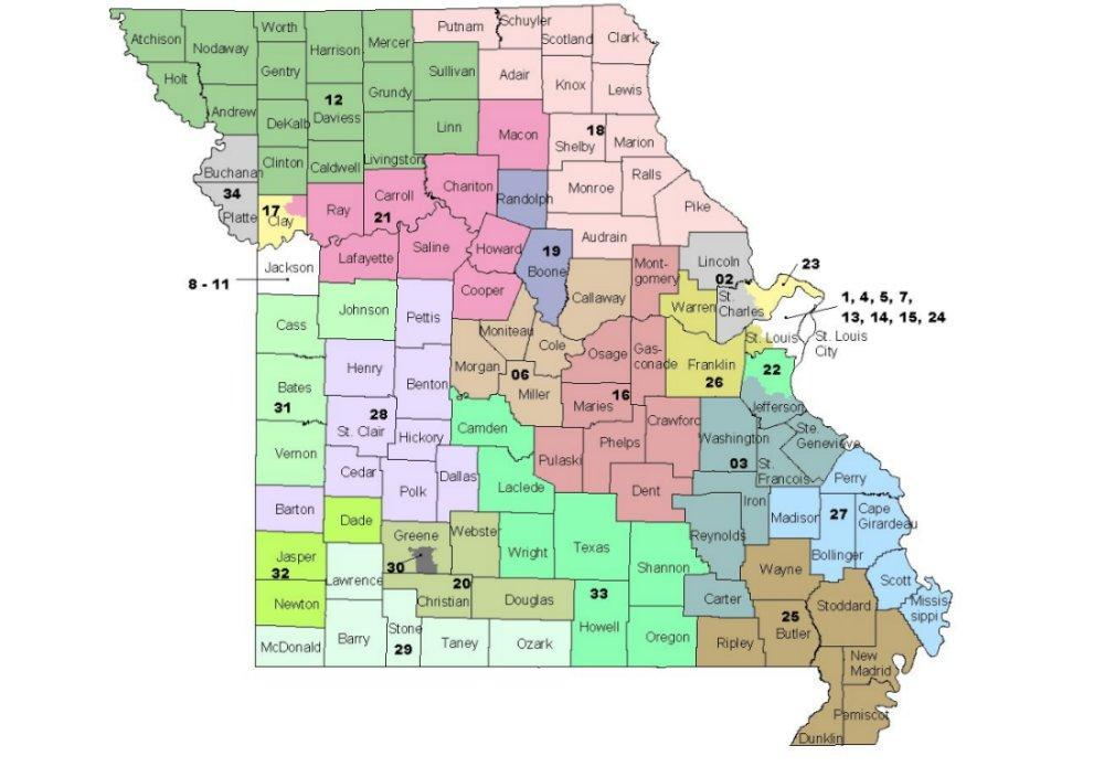 Mo. Senate redistricting panel gives up, will let judges redraw map ...